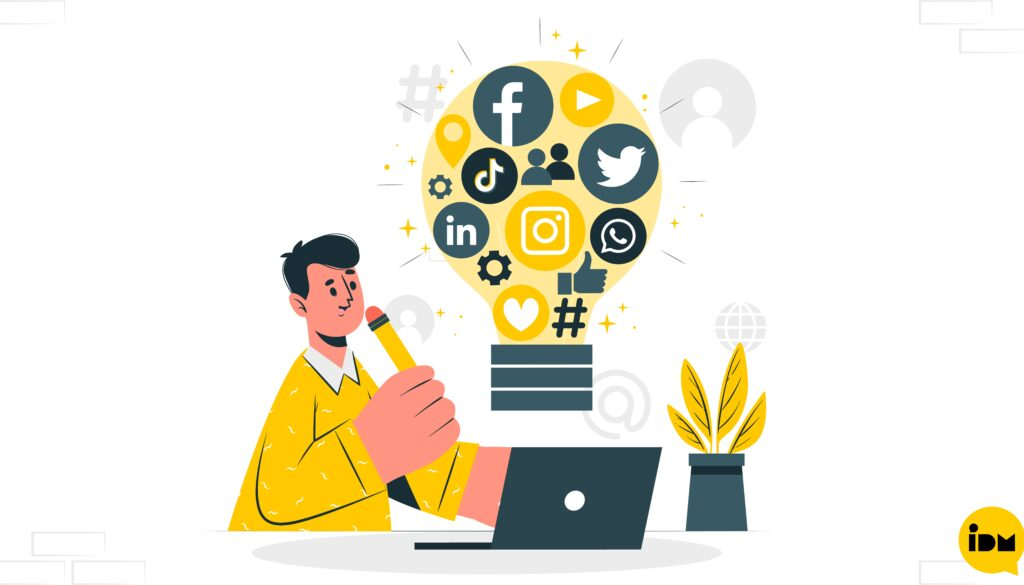 Blog Feature image - Brand promotion through Social media